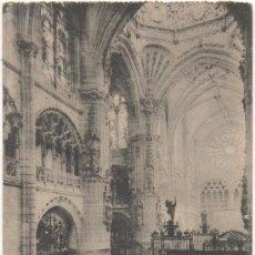 Postales: BURGOS.- CATEDRAL, NAVE DEL SARMENTAL. (C.1920).. Lote 35814990