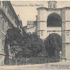 Postales: VALLADOLID.- SAN BENITO.. Lote 35838107