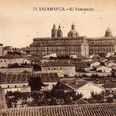 Postales: POSTAL DE SALAMANCA,EL SEMINARIO, NO CIRCULADA. Lote 35944113