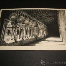 Postales: SORIA CLAUSTRO DE LA COLEGIATA POSTAL FOTOGRAFICA LIBRERIA DE E. DE LAS HERAS. Lote 36287699