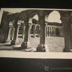 Postales: SORIA CLAUSTRO DE SAN JUAN DE DUERO POSTAL FOTOGRAFICA LIBRERIA DE E. DE LAS HERAS. Lote 36287704