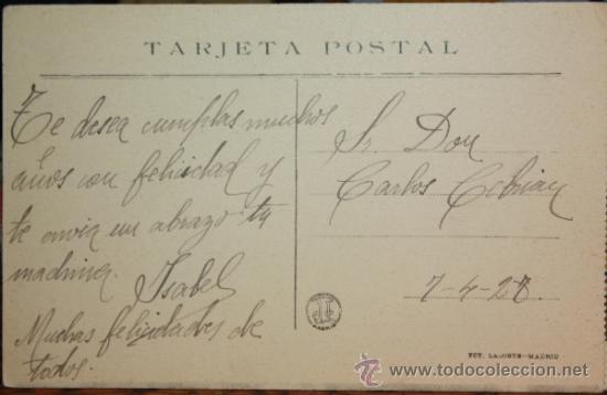 Postales: JARDINES DE LA GRANJA,1928 - Foto 2 - 36328104