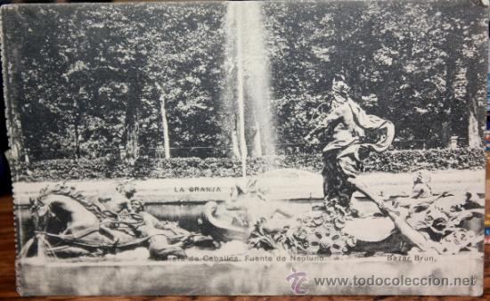 JARDINES DE LA GRANJA,1928 (Postales - España - Castilla y León Antigua (hasta 1939))