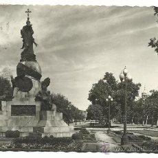 Postales: VALLADOLID.-PASEO DE CAMPO GRANDE,MONUMENTO A COLON.-EDICIONES GARCIA GARRABELLA Nº 48. Lote 36427102