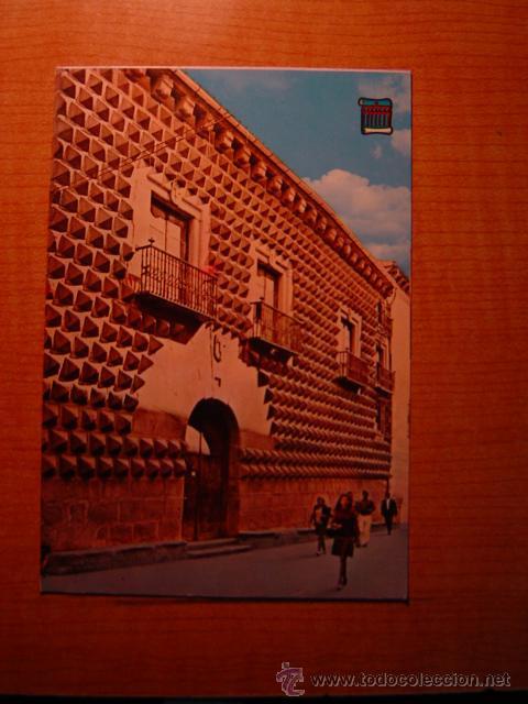 POSTAL SEGOVIA CASA DE LOS PICOS SIN CIRCULAR (Postales - España - Castilla y León Moderna (desde 1940))