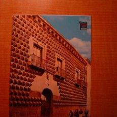 Postales: POSTAL SEGOVIA CASA DE LOS PICOS SIN CIRCULAR. Lote 36435495