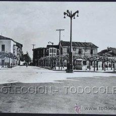 Postales: POSTAL VILLARCAYO BURGOS PLAZA MAYOR . IMP. Y LIB. GARCIA CA AÑO 1950 .. Lote 36800859