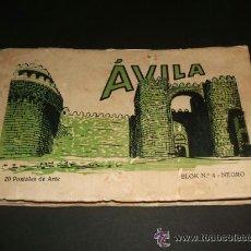 Postales: AVILA CUADERNO 20 POSTALES. Lote 36632889
