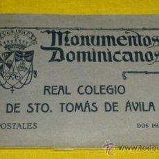 Postales: POSTALES 19, REAL COLEGIO DE SANTO TOMAS DE AVILA, MONUMENTOS DOMINICANOS. Lote 36848831