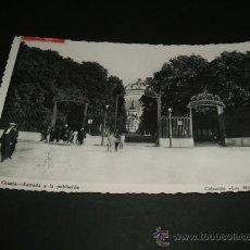 Postales: LA GRANJA SEGOVIA ENTRADA A LA POBLACION. Lote 36927952