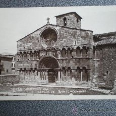Postales: CASTILLA L. SORIA IGLESIA DE SANTO DOMINGO POSTAL ANTIGUA. Lote 36943191