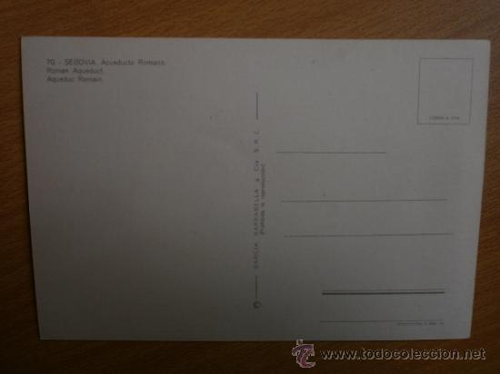 Postales: SEGOVIA. - Foto 2 - 37023227