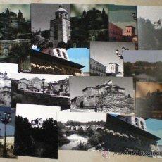 Postales: CARRIÓN DE LOS CONDES-COLECCIÓN DE 16 FOTOGRAFÍAS RETOCADAS-TUNEADAS COLLAGE. Lote 37085767