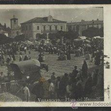 Postales: VILLARCAYO - PLAZA DEL MERCADO - FOTOGRAFICA - (15.383). Lote 37147189