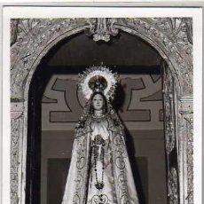 Postales: VIRGEN DEL SOCORRO. FOTOGRAFIA IGLESIAS VITIGUDINO SALAMANCA. TAMAÑO POSTAL SIN REVERSO.. Lote 37219396