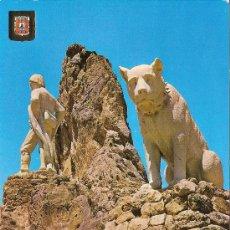 Cartoline: AMEYUGO (BURGOS), MONUMENTO AL PASTOR - ESCUDO DE ORO Nº 91 - SIN CIRCULAR. Lote 37434681