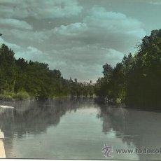 Postales: ARANDA DE DUERO.-PAISAJE DEL RIO DUERO.-EDICIONES VISTABELLA Nº 1. Lote 37619324