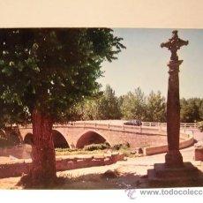 Postales: SALAS DE LOS INFANTES BURGOS PUENTE DE CARRETERA SAGUNTO-BURGOS. Lote 37778741
