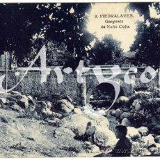 Postales: PRECIOSA POSTAL - PIEDRALAVES (AVILA) - GARGANTA DE NUÑO COJO - AMBIENTADA . Lote 38212611