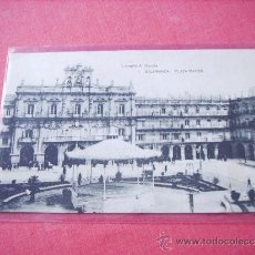Postales: SALAMANCA --PLAZA MAYOR--. Lote 38046588