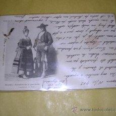 Postales: SEGOVIA - ALDEANOS DE LA PROVINCIA ( CASTILLA LA VIEJA )SERIE B Nº16 CIRCULADA 1903 - FOT. LAURENT . Lote 38053752