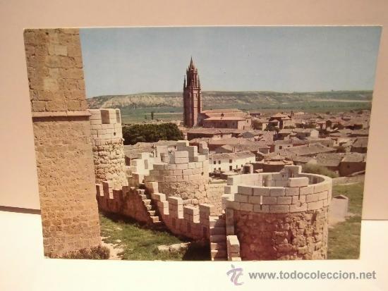 3-AMPUDIA(PALENCIA)VISTA PARCIAL DESDE EL CASTILLO EDICIONES INTER (Postales - España - Castilla y León Moderna (desde 1940))