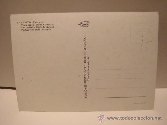 Postales: 3-AMPUDIA(PALENCIA)VISTA PARCIAL DESDE EL CASTILLO EDICIONES INTER - Foto 2 - 38064032