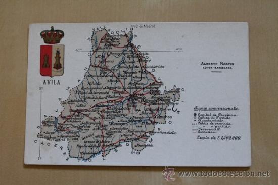 POSTAL. ÁVILA. ALBERTO MARTÍN, EDITOR. (Postales - España - Castilla y León Antigua (hasta 1939))