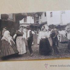 Postales: POSTAL. SIERRA DE GREDOS. BAILE EN GUISANDO. FOT. WUNDERLICH.. Lote 38134241