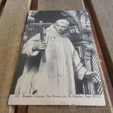 Postales: POSTAL FOTOGRAFICA DE BURGOS CARTUJA SAN BRUNO HAUSER Y MENET. Lote 38217025