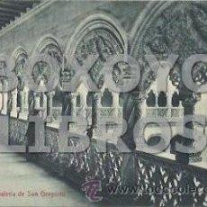 Postkarten - Valladolid. Interior de la Galería de San Gregorio. Postales Zapatero. Escrita en 1910 - 38219124