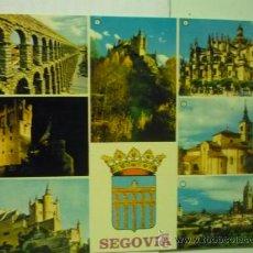 Postales: POSTAL SEGOVIA .- VARIOS ASPECTOS --ESCRITA. Lote 38299780