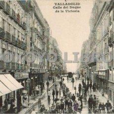 Postkarten - Valladolid. Calle del Duque de la Victoria. Editor J. H. - 38325361