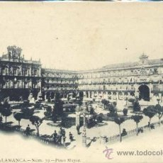 Postales: SALAMANCA.- PLAZA MAYOR. Lote 38761670