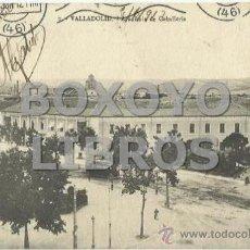 Postales: 7- VALLADOLID. ACADEMIA DE CABALLERÍA. ESCRITA Y CIRCULADA EN 1912. Lote 38839253