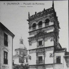 Postales: (1316)POSTAL SIN CIRCULAR,PLAZUELA DE MONTEREY,SALAMANCA,SALAMANCA,CASTILLA Y LEON,CONSERVACION:VER . Lote 38857363