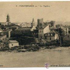Postales: PONFERRADA, 8. LA YGALICA. COLECCIÓN ROMERO, DORSO VERDE. LEÓN. Lote 38909361