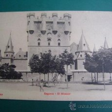 Postales: POSTAL SIN CIRCULAR SEGOVIA UPU P.Z. 100086, EL ALCÁZAR. Lote 39067053