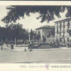 Postales: SORIA.- ALAMEDA DE CERVANTES. Lote 39146810