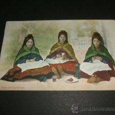 Postales: CANDELARIO SALAMANCA TIPOS COLECCION REQUENA BEJAR. Lote 39160886