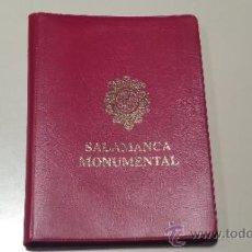 Postales: LIBRITO CON 20 POSTALES SALAMANCA MONUMENTAL. Lote 39315085