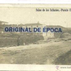 Postales: (PS-36642))POSTAL FOTOGRAFICA DE SALAS DE LOS INFANTES-PUENTE COSTANA. Lote 39328509