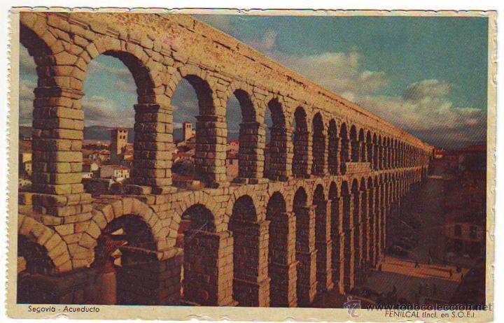 SEGOVIA. ACUEDUCTO (Postales - España - Castilla y León Moderna (desde 1940))