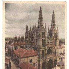 Cartoline: BURGOS CATEDRAL. EDICION DEL HOTEL RESTAURANTE CASTELLANO. SIN CIRCULAR. Lote 39434648
