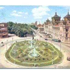 Valladolid – monumento y paseo de Zorrilla - 1963