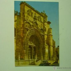 Postales: POSTAL ARANDA DE DUERO.- FACHADA STA.MARIA. Lote 39561752
