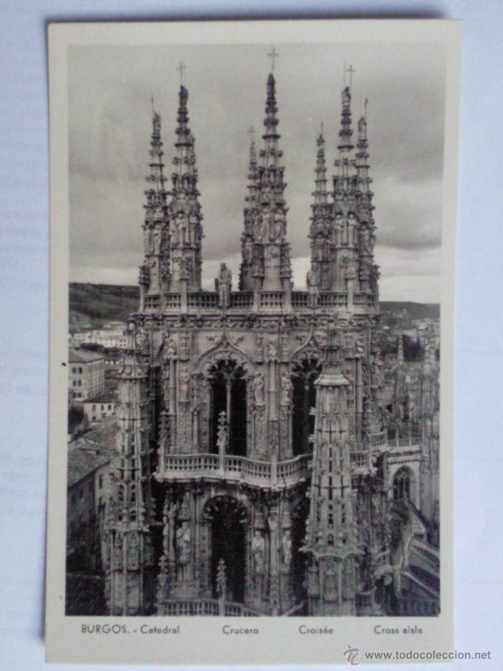POSTAL BURGOS, CATEDRAL, CRUCERO (Postales - España - Castilla y León Antigua (hasta 1939))