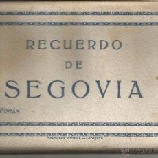 Postales: SEGOVIA. Lote 39690002