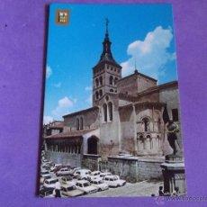 Postales: SEGOVIA-V15-NO ESCRITA-IGLESIA SAN MARTIN. Lote 39786426