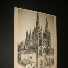 Postales: BURGOS LA CATEDRAL COL. D´ASLOC. Lote 39888187